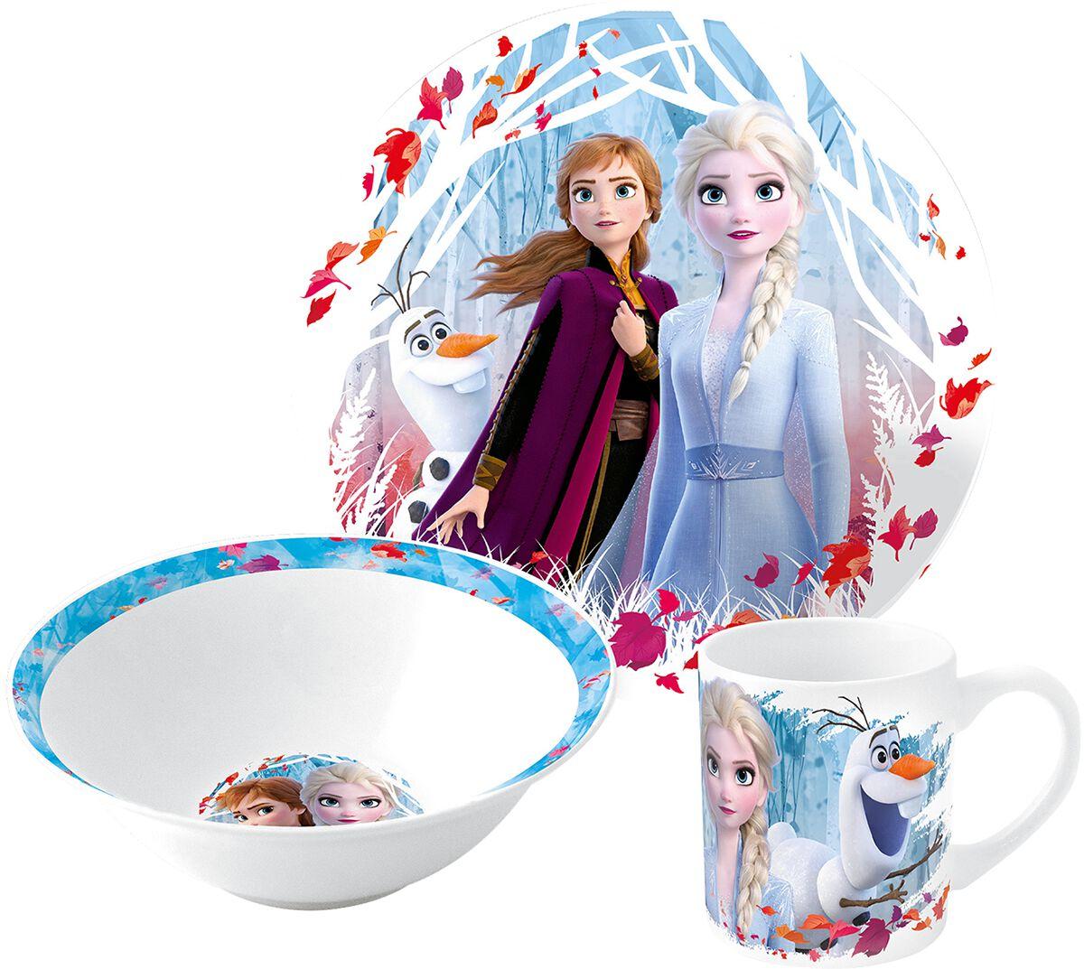 Die Eiskönigin Frühstücksset Frühstücks-Set multicolor 24508088
