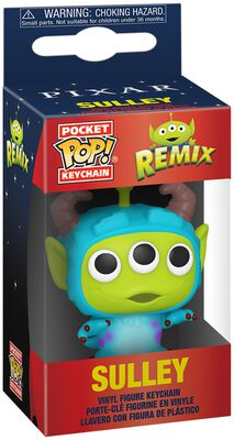 Alien als Sulley - POP! Keychain
