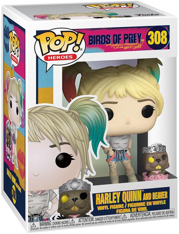 Harley Quinn and Beaver Vinyl Figure 308