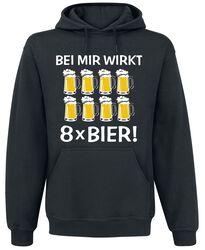 Bei mir wirkt 8 x Bier