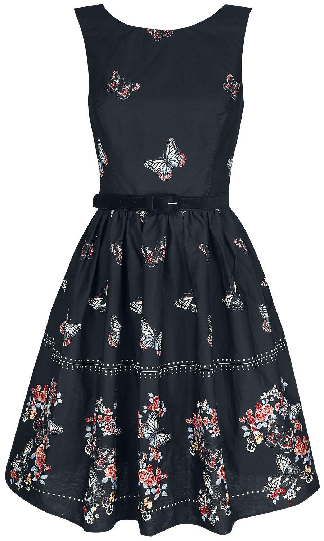 Kleider für Frauen - Hell Bunny Laeticia Mid Dress Kleid schwarz  - Onlineshop EMP