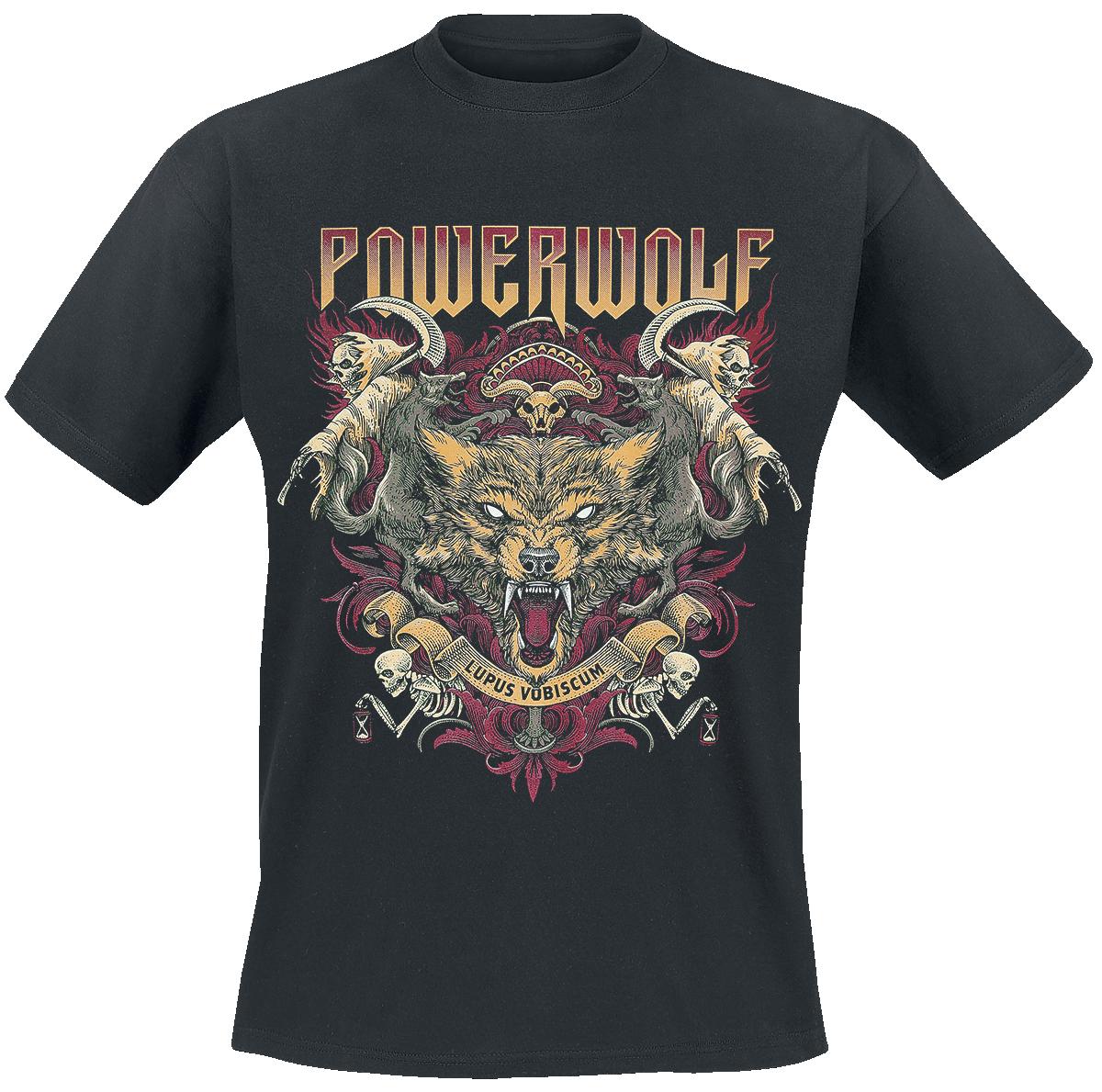 Powerwolf - Lupus Vobiscum - T-Shirt - black image