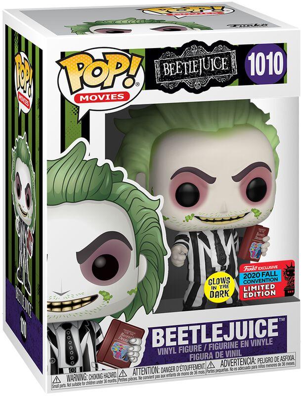 NYCC 2020 - Beetlejuice (Glow in the Dark) Vinyl Figur 1010