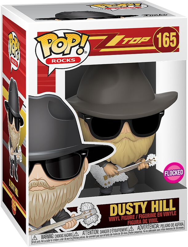 Dusty Hill Rocks Vinyl Figur 165