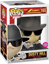 Dusty Hill Rocks Vinyl Figur 165