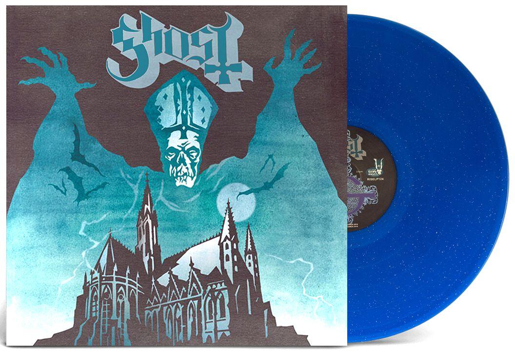 Ghost Opus eponymous LP blau RISELP124
