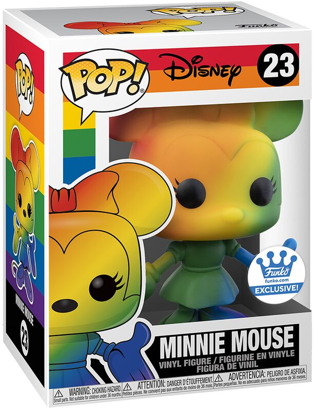 Pride - Minnie Mouse (Funko Shop Europe) Vinyl Figur 23