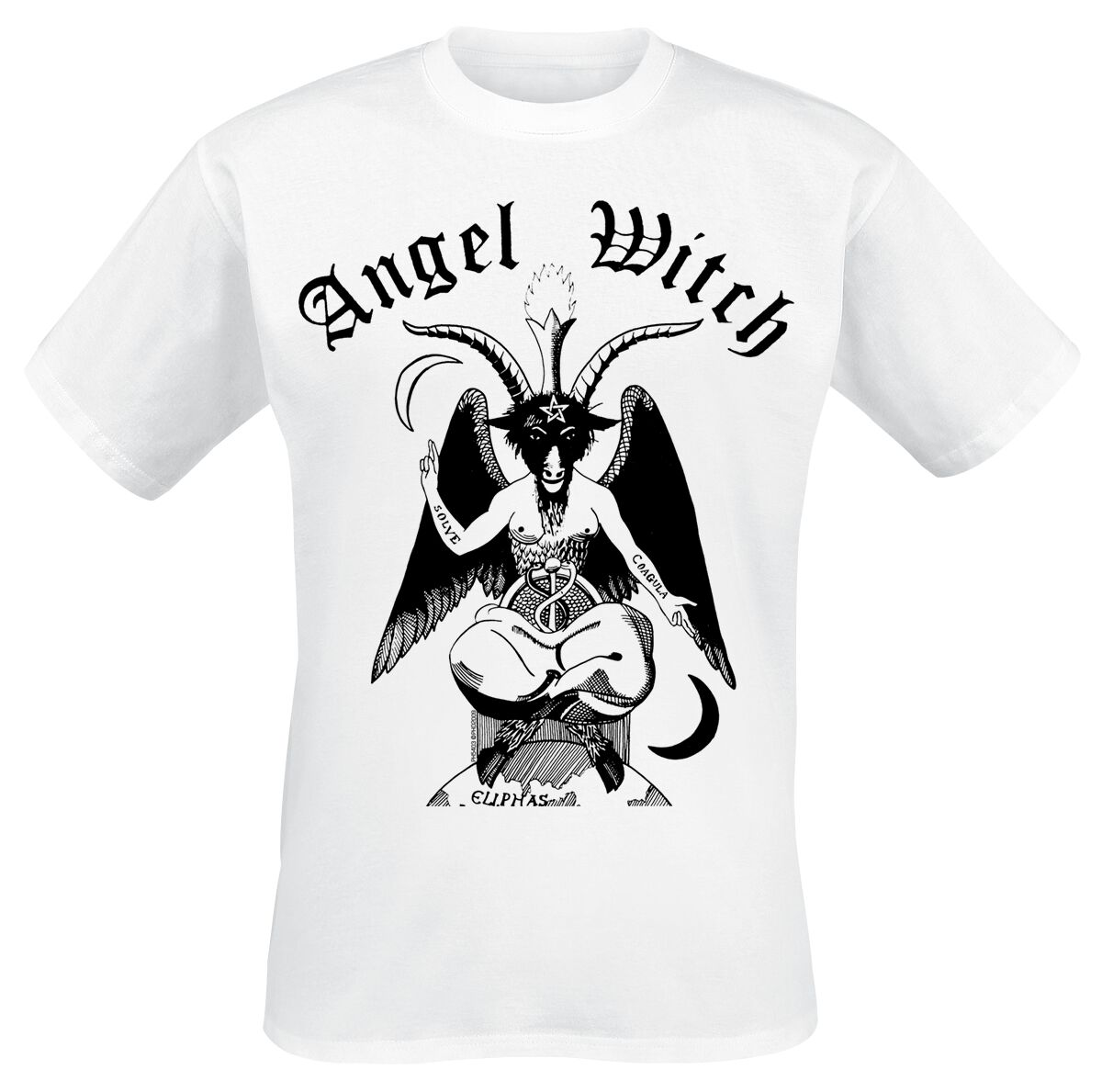Image of Angel Witch Baphomet T-Shirt weiß
