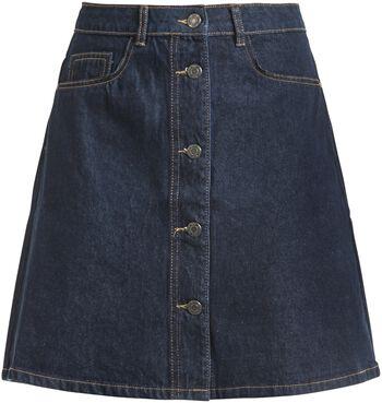 Sunny Shortdenim Skater Skirt