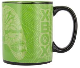 Xbox Tasse mit Thermoeffekt