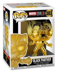 Marvel Studios 10 - Black Panther (Chrome) Vinyl Figure 383