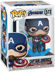 Endgame - Captain America Vinyl Figur 573