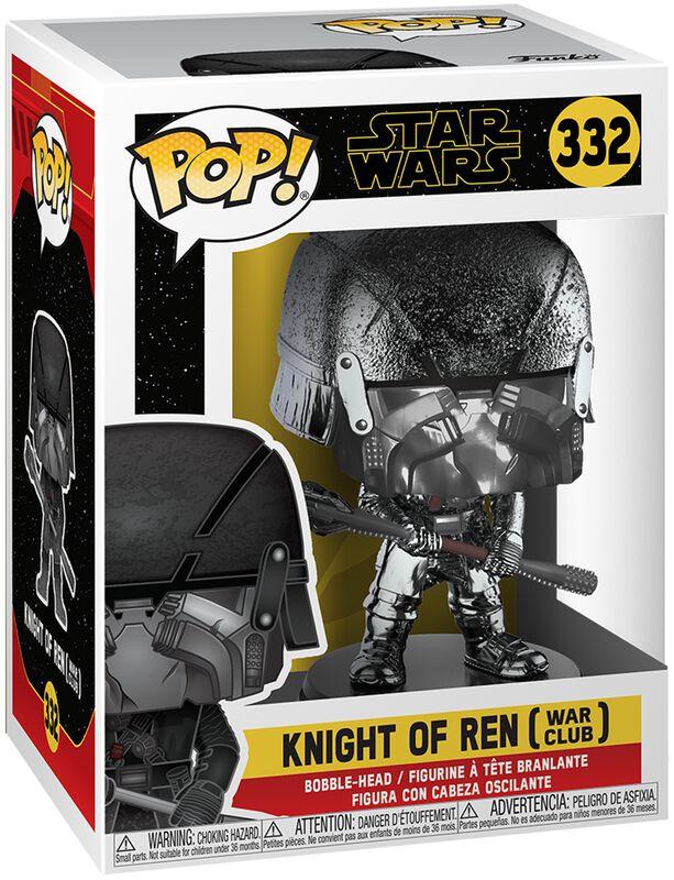 Episode 9 - Der Aufstieg Skywalkers - Knight of Ren (War Club) (Chrome) Vinyl Figure 332