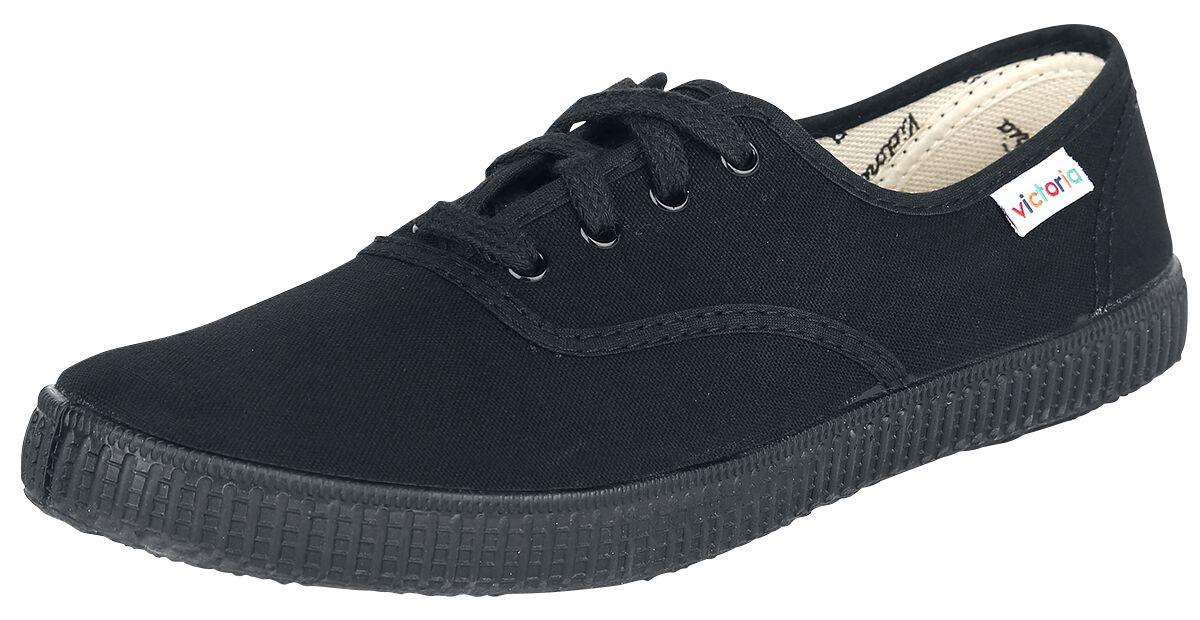 Sneakers für Frauen - Victoria Inglesa Lona Piso Sneaker schwarz schwarz  - Onlineshop EMP