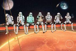 Stormtrooper on Girders