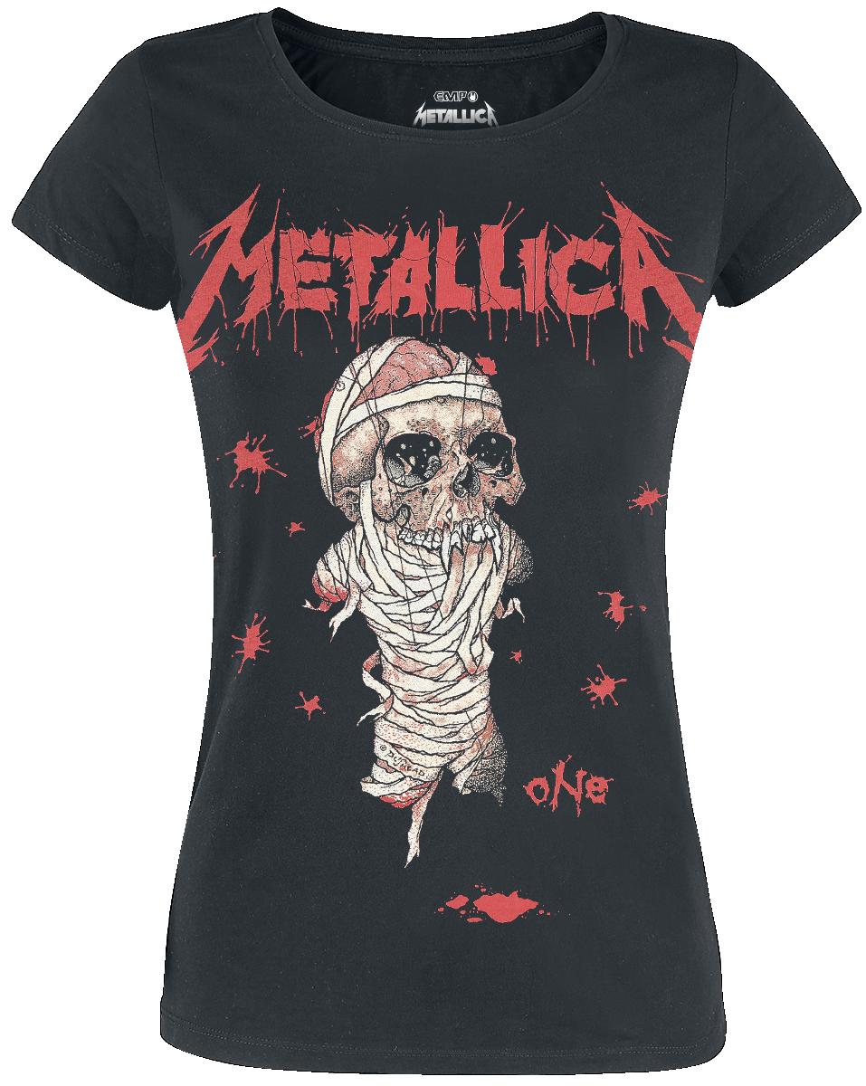 Metallica - One - Girls shirt - black image