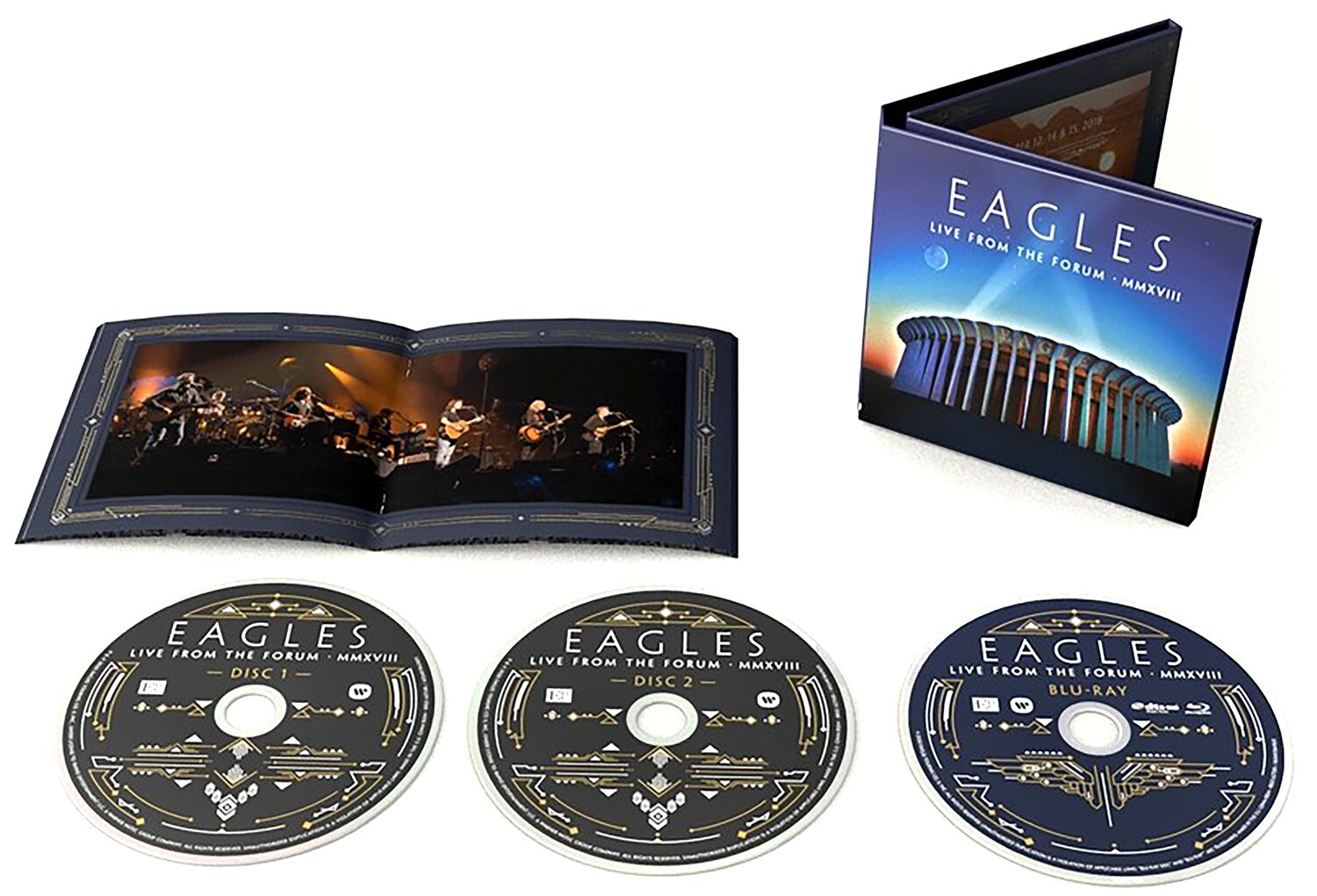 Image of Eagles Live from the Forum MMXVIII 2-CD & Blu-ray Standard