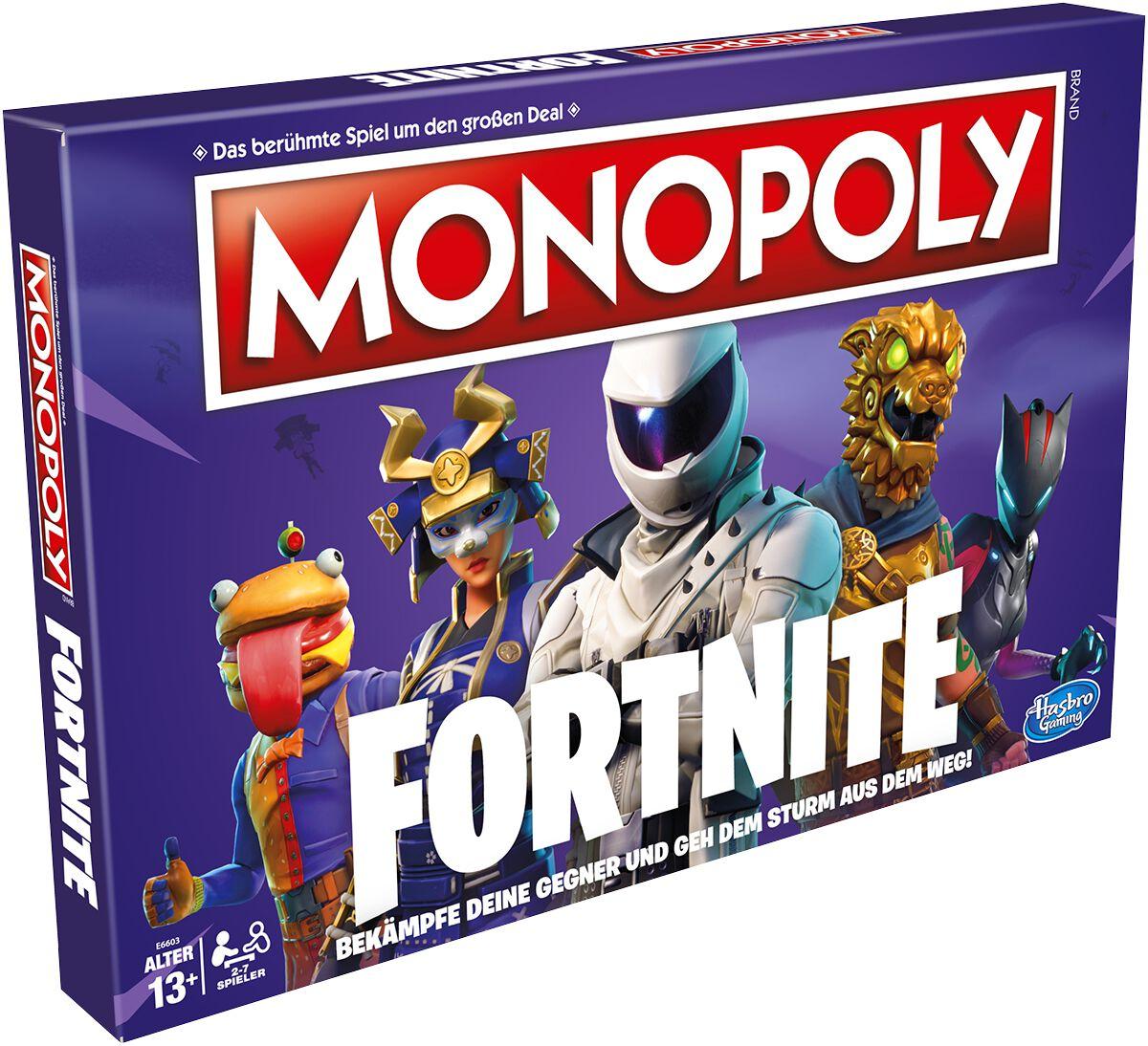 Fortnite Monopoly Brettspiel multicolor E6603398