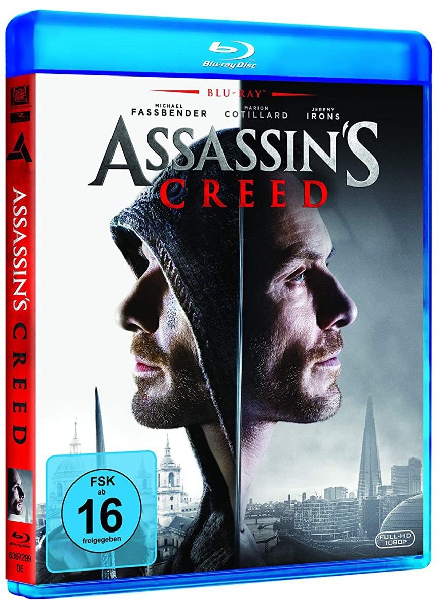 Image of Assassin's Creed Assassin's Creed Blu-ray Standard