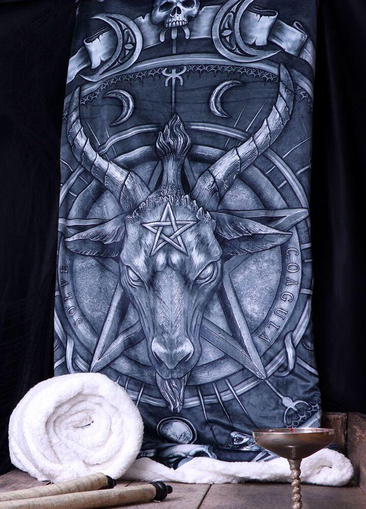 Image of Nemesis Now Hold Of Baphomet Decke Standard