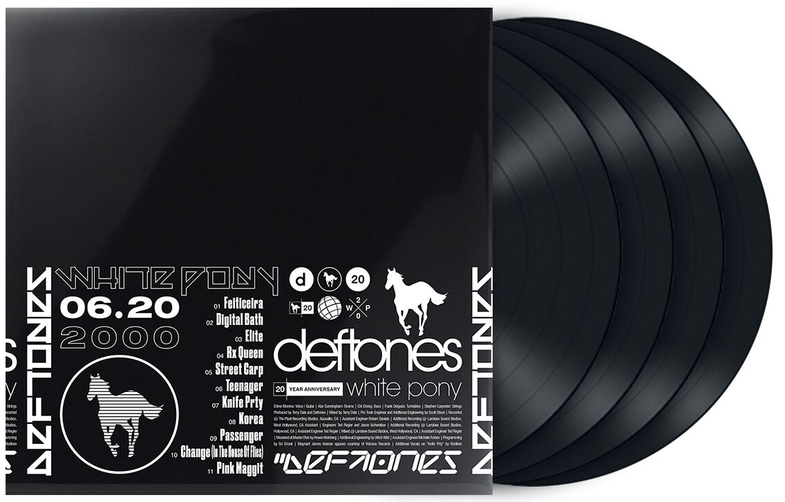 Image of Deftones White Pony (20th anniversary) 4-LP Standard