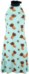Pineapple Neckholder Dress