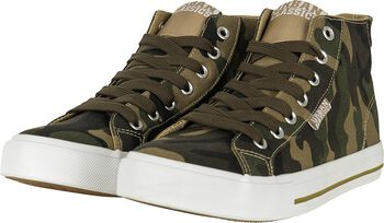High Top Canvas Sneaker