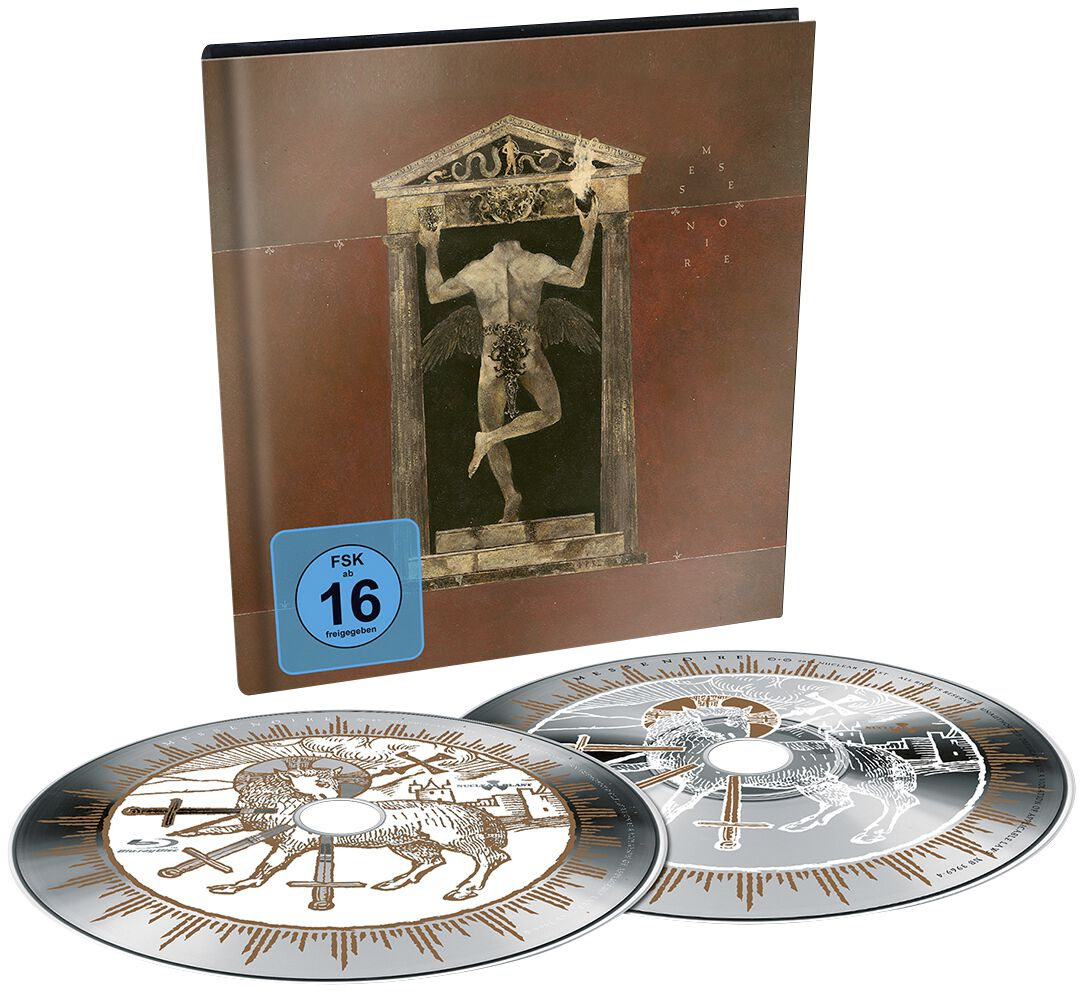 Image of Behemoth Messe Noire Blu-ray & CD Standard