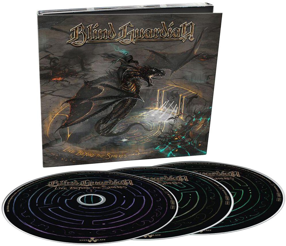 Image of Blind Guardian Live Beyond The Spheres 3-CD Standard