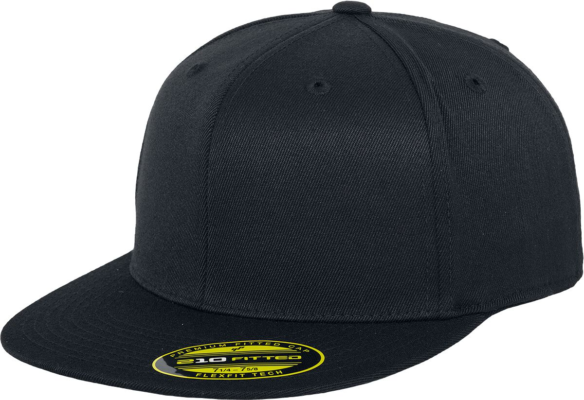 Image of Flexfit Premium 210 Fitted Flexcap schwarz