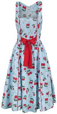 Cherry Blue Tie Front Dress
