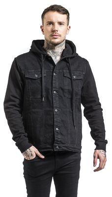 Cradock Denim Hooded Vest