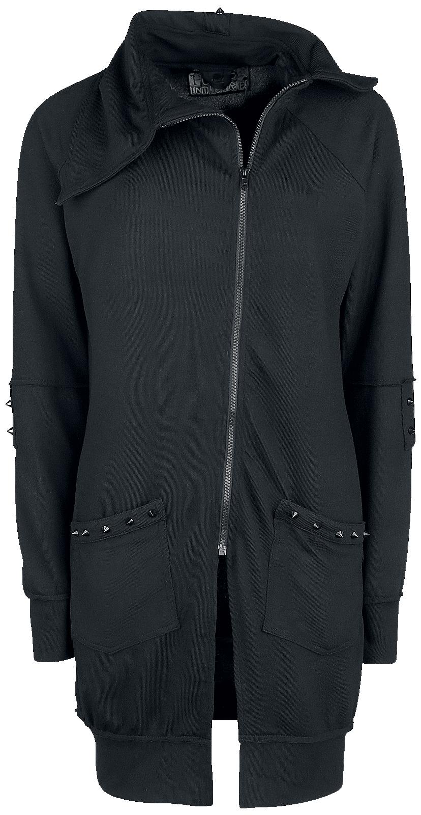 Poizen Industries - Diem Cardigan - Girls' cardigan - black image