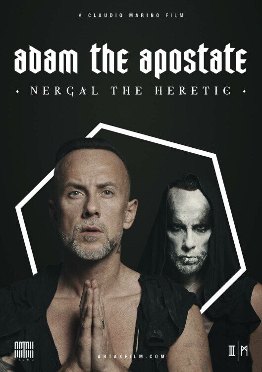 Image of Adam The Apostate Adam The Apostate / Nergal The Heretic DVD Standard