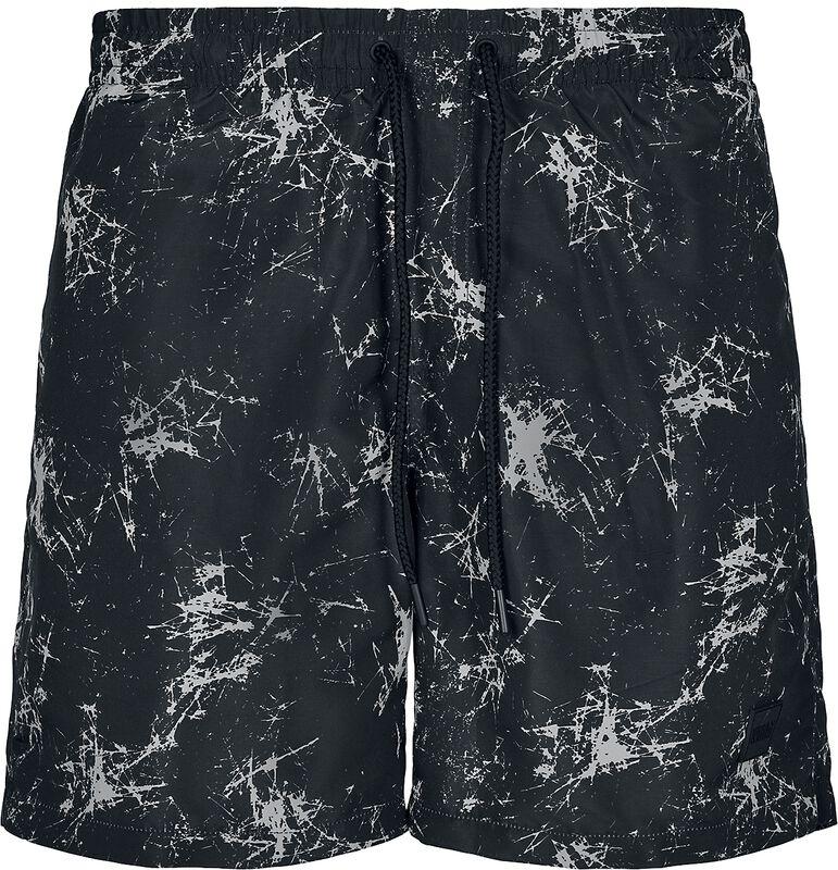 Pattern Swim Shorts - Scratch AOP