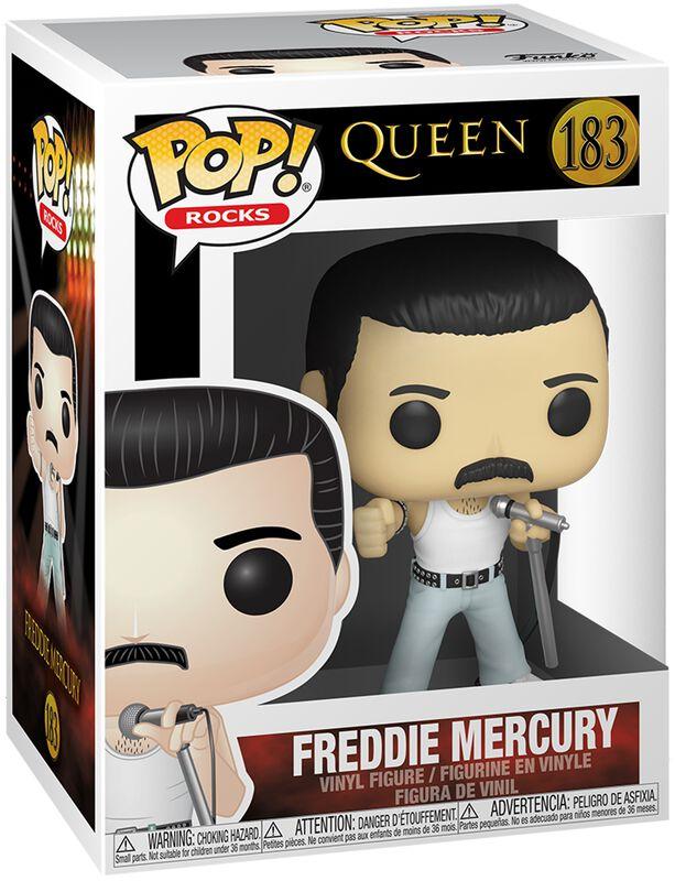 Freddie Mercury Rocks Vinyl Figur 183