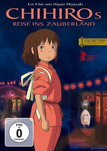 Chihiros Reise ins Zauberland Studio Ghibli - Chihiros Reise ins Zauberland DVD multicolor 828765 32899