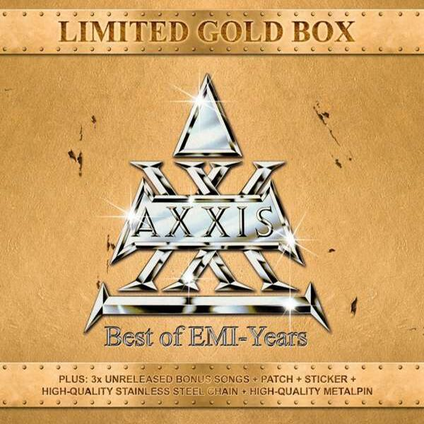 Image of Axxis Best of EMI-Years 3-CD Standard