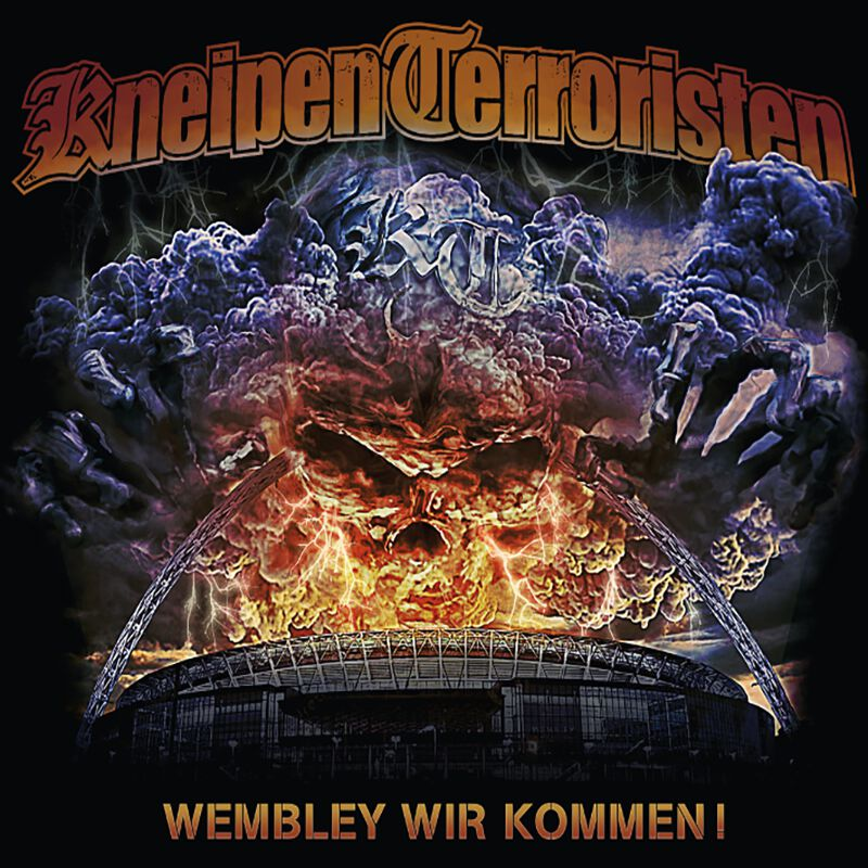 Kneipenterroristen Wembley wir kommen! CD multicolor rude 075