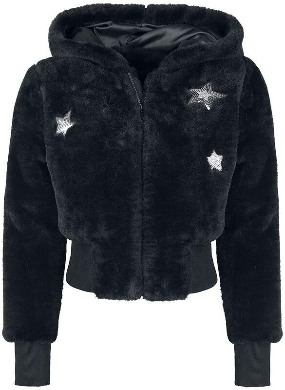 Star Struck Faux Fur Jacket