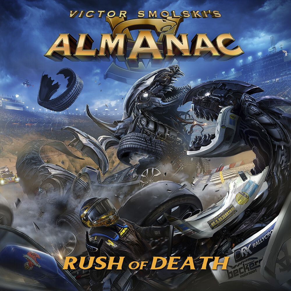 Image of Almanac Rush of death CD & DVD Standard