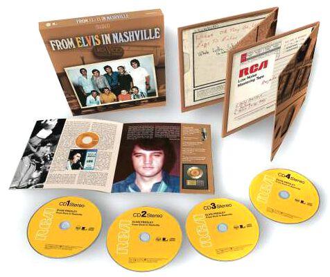 Image of Presley, Elvis From Elvis in Nashville 4-CD Standard
