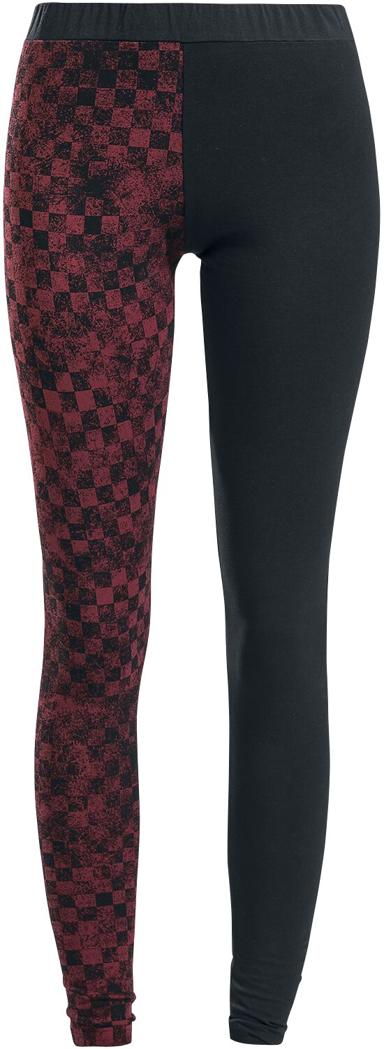 RED by EMP Built For Comfort Leggings red black