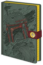 Boba Fett Art - Notizbuch