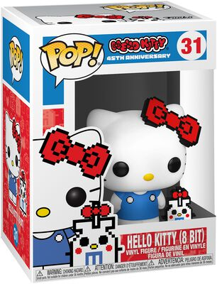 Hello Kitty (8 Bit) (Chase Edition möglich) - Vinyl Figure 31