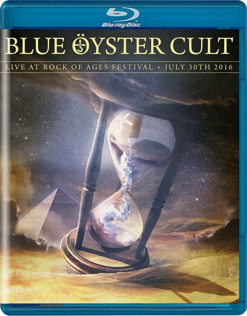 Image of Blue Öyster Cult Live at Rock of Ages Festival 2016 Blu-ray Standard