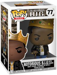 Notorious B.I.G. (With Crown) Rocks Vinyl Figure 77
