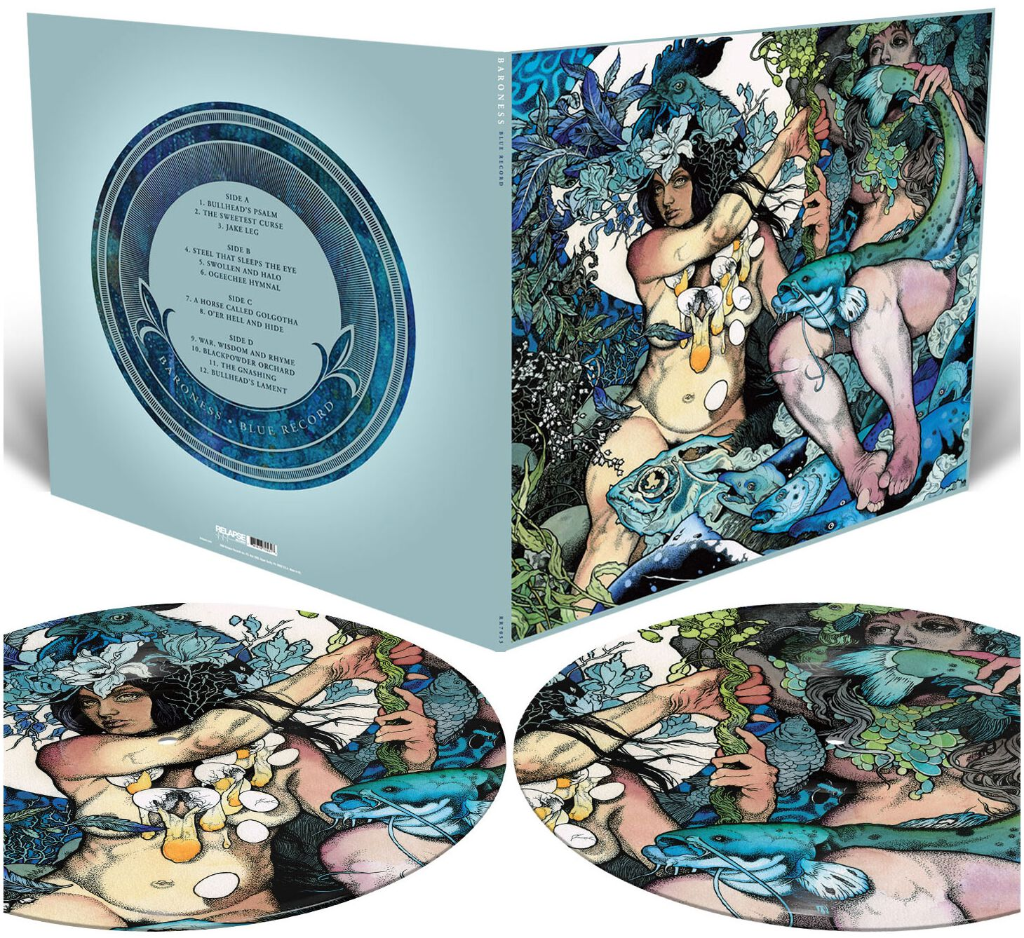 Image of Baroness Blue record 2-LP Picture