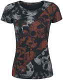Bad Skulls Contrast Shirt