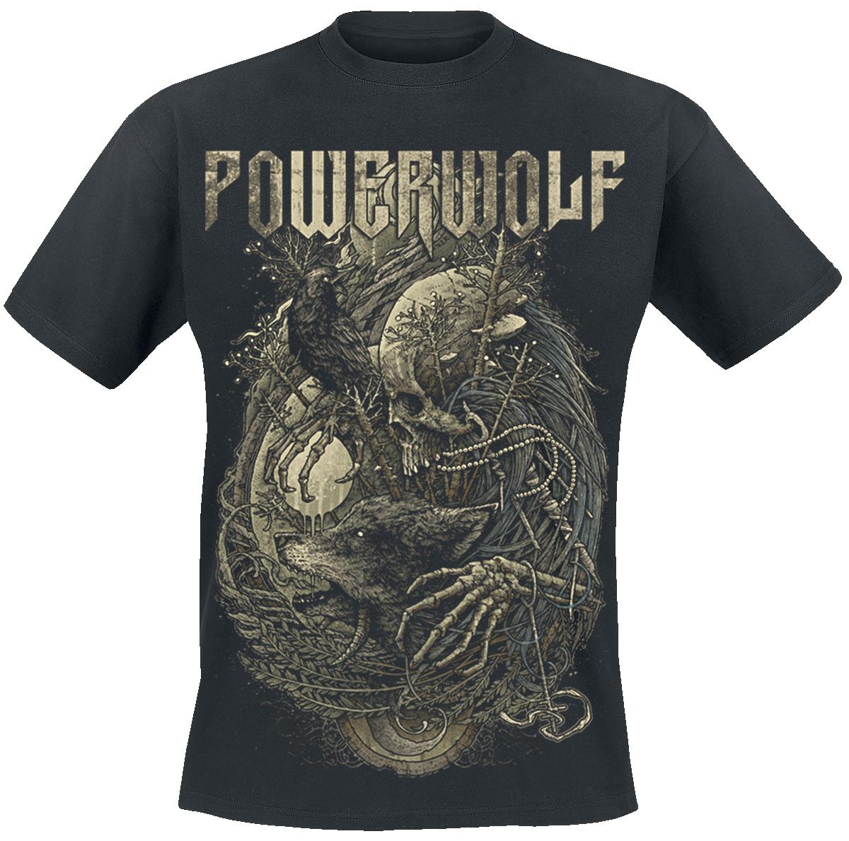 Powerwolf - In Blood We Trust - T-Shirt - black image